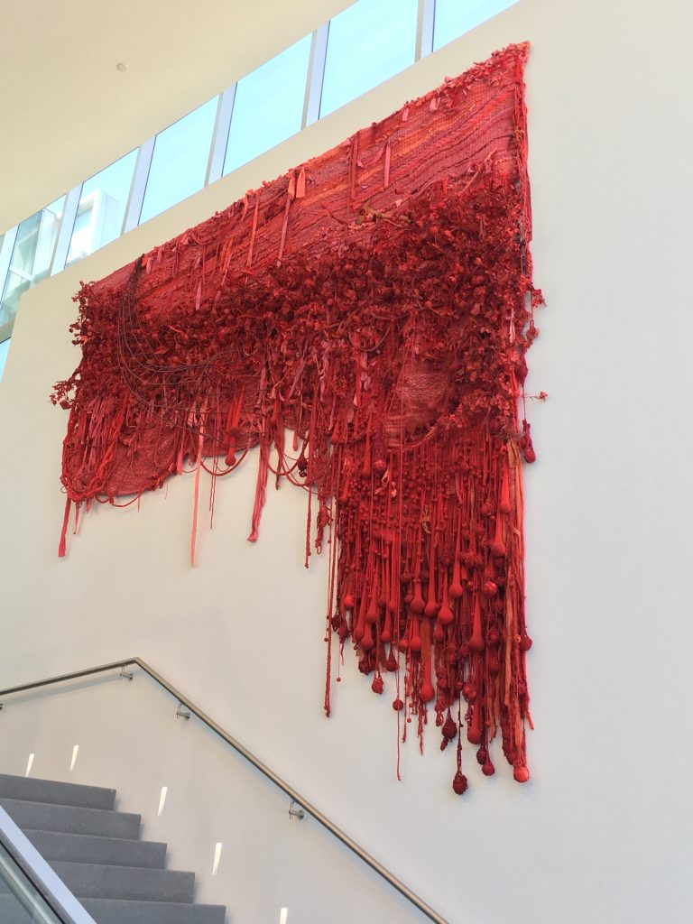 """Art Installation """"One Hundred Blossoms and the Sweet Scent"""